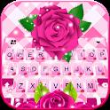 Pink Roses Keyboard Theme icon