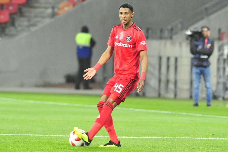 Orlando Pirates midfielder Maliele Vincent Pule in action against Chippa United during a Absa Premiership match at Nelson Mandela Bay Stadium, Port Elizabeth on August 8 2018.