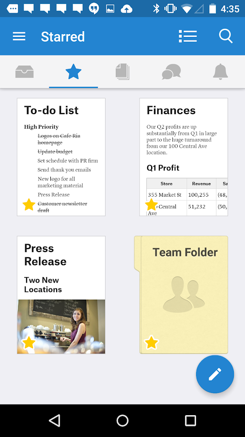 Quip: Docs, Chat, Spreadsheets- screenshot