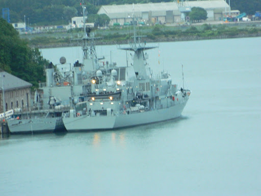Irish Naval Base in Cork