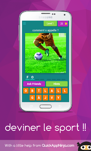 deviner le sport !! android2mod screenshots 1