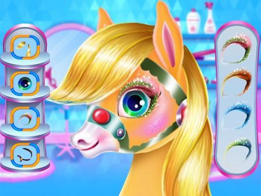 Pony Unicorn Horse Games For Girls: capturas de pantalla de Makeup Salon 10