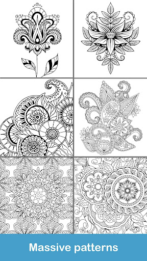 100+ Mandala coloring pages  screenshots 6