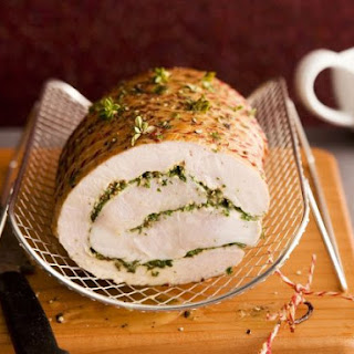Rolled Pork Roast with Stuffing.