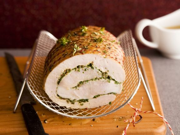 Rolled Pork Roast with Stuffing Recipe