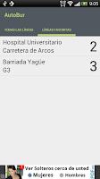 Screenshot of AutoBur - Autobuses Burgos