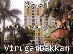 Photo: Sold Flat at Appaswamy YS Enclave Virugambakkam