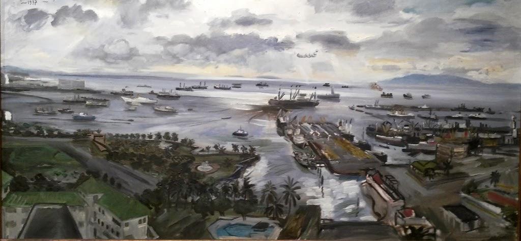 'MANILA BAY' BY FEDERICO AGUILAR  ALCUAZ (1932-2011)