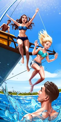 Summer Boat Trip - Girls Salon screenshot