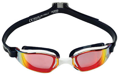 Michael Phelps Xceed Goggles - Blue/White with Red Titanium Mirror Lens alternate image 2