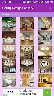 Ceiling Designs Gallery - náhled