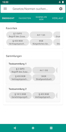Lawdroid – Deutsche Gesetze und EU-Recht screenshot 1