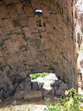 Photo: Perge Stadium, entrance vault