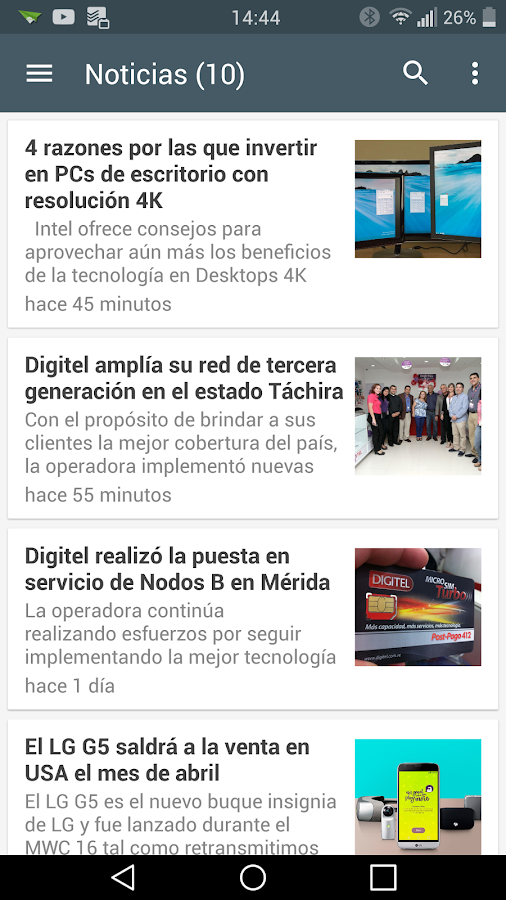 AndroidVenezuela Noticias- screenshot