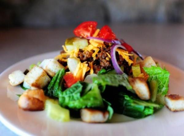 Have It Your Way Cheeseburger Salad Recipe