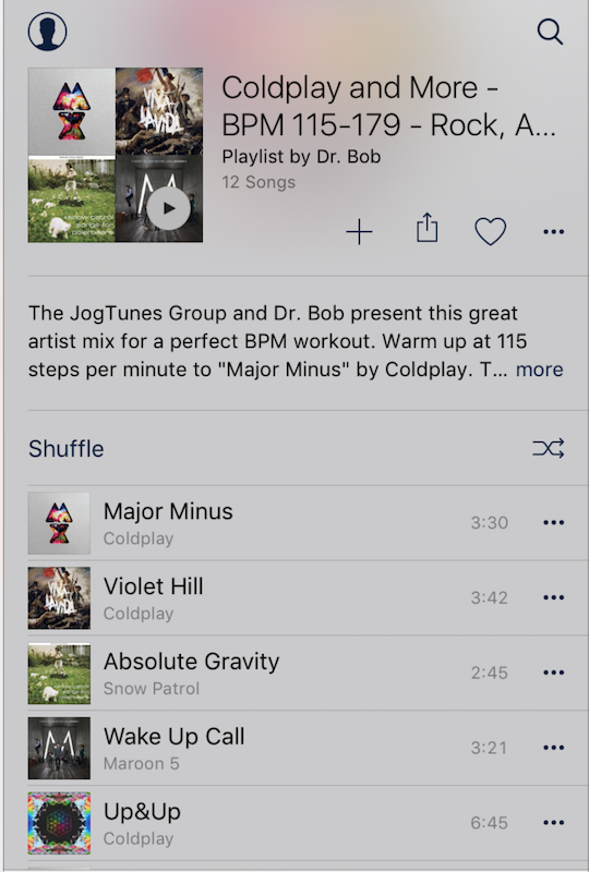 JogTunes BPM Running Music- screenshot