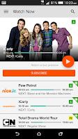 Screenshot of Mobile FOXTEL