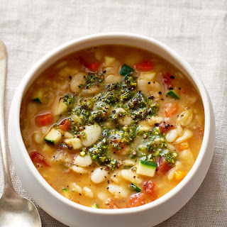 Slow Cooker Butter Bean Minestrone from Hugh Acheson.