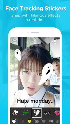 SNOW - Selfie, Motion sticker скачать на планшет Андроид