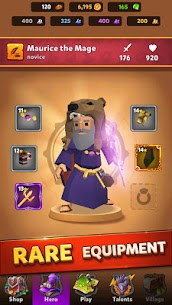 Mage Hero MOD (Unlimited Gems/Coins/Purchase) 4