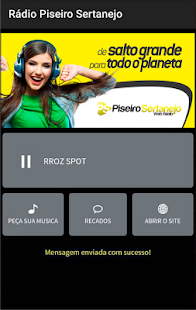 Rádio Piseiro Sertanejo- screenshot thumbnail