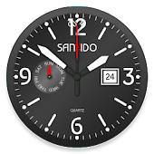 Analog Clock Sanxido Live Wallpaper