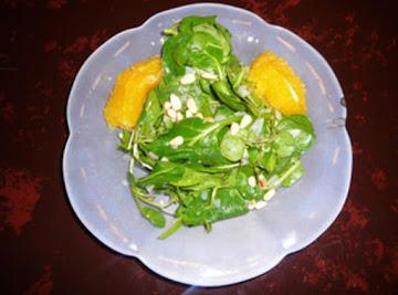 Spinach Salad In Fresh Orange Dressing Recipe
