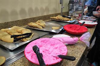 Photo: Ystävänpäivä näkyi kahvilassakin
