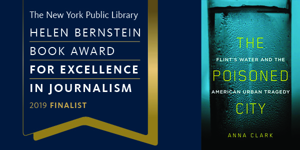 2019 Bernstein Awards Finalist Spotlight: The Poisoned City