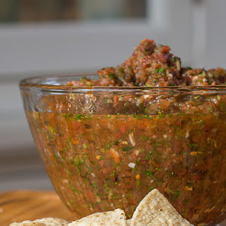 Sweet and Spicy Restaurant Style Salsa