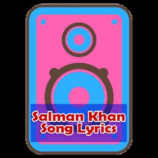 Salman Khan Song Lyrics - náhled