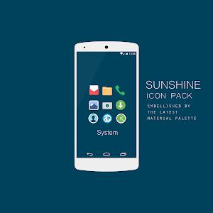 Sunshine - Icon Pack -Donation v2.6