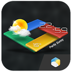 3D G-Color Live Weather Widget 4.8.0.3_release Apk