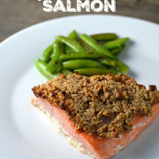 Easy Walnut Crusted Salmon