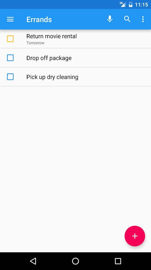 Tasks: Astrid To-Do List Clone- screenshot