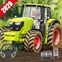 Modern Farming Tractor Simulator 3d-Big Driving icon