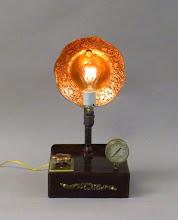 Photo: pipe lamp