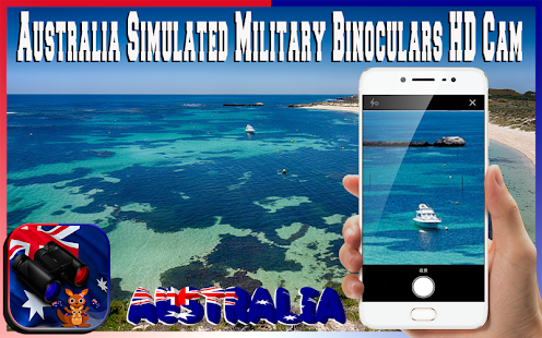 Australia Military Binoculars Simulated camera HD - náhled