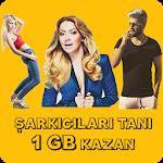 Şarkıcıları Bil 1 GB Kazan icon