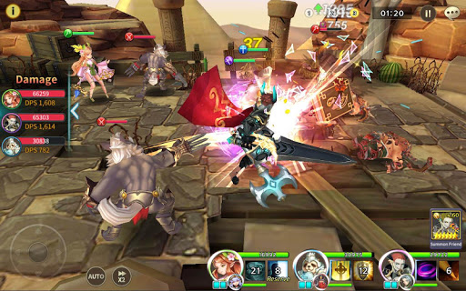 Soul Seeker: Six Knights – Strategy Action RPG
