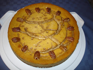 Caramel Pumpkin Cheesecake Recipe