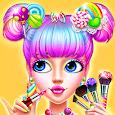 🍬👧Candy Girl Makeup - Dress up Game