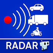 Radarbot Free: Speed Camera Detector & Speedometer Icon