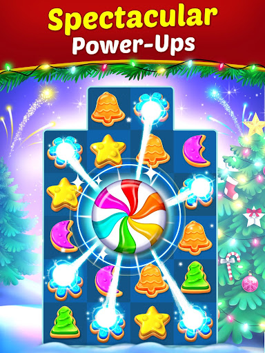 Christmas Cookie - Santa Claus's Match 3 Adventure modavailable screenshots 9