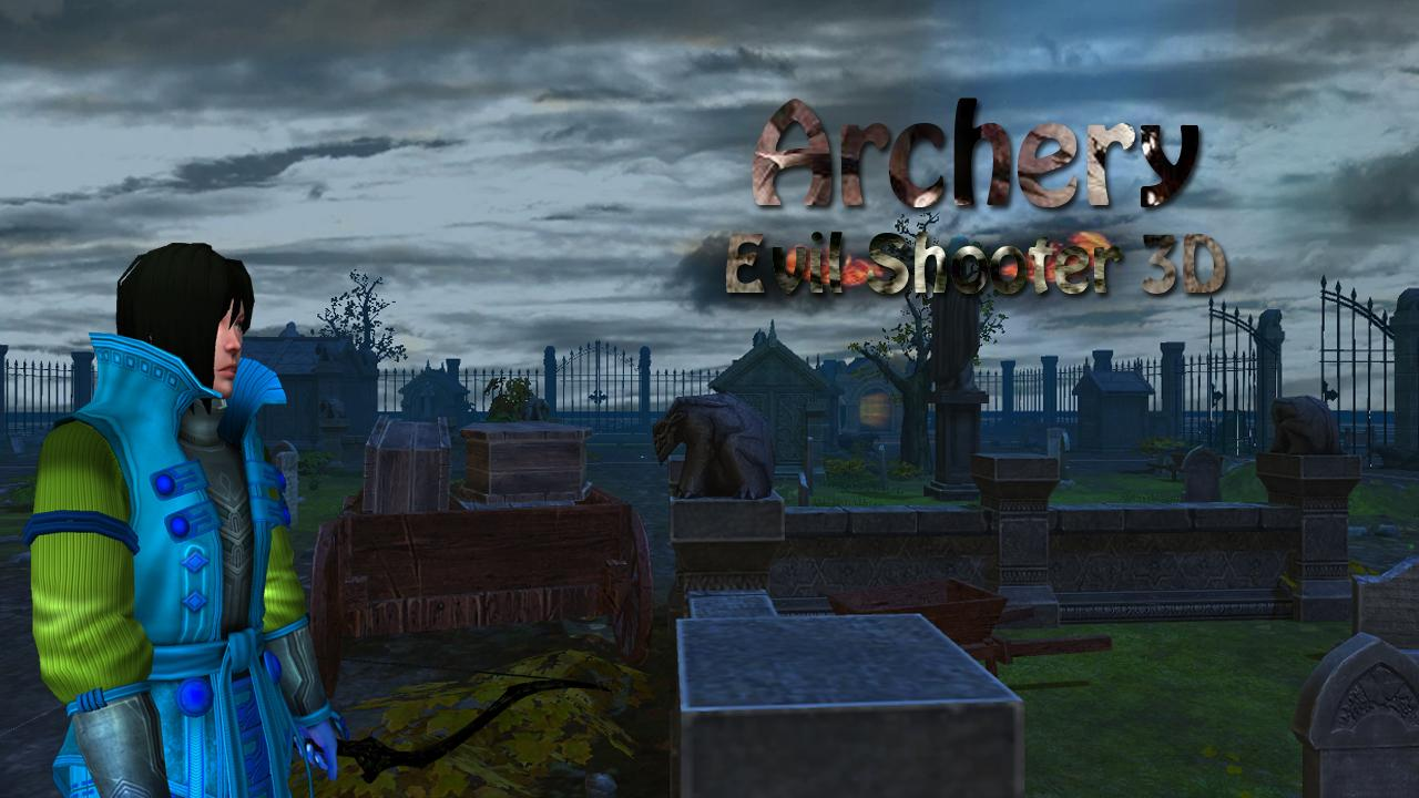Archery Evil Shooter 3D- screenshot