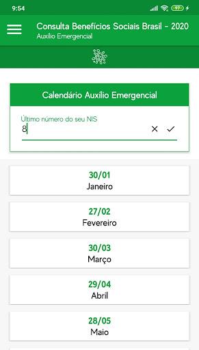 Consulta Benefícios Sociais Brasil - 2020 screenshot 5