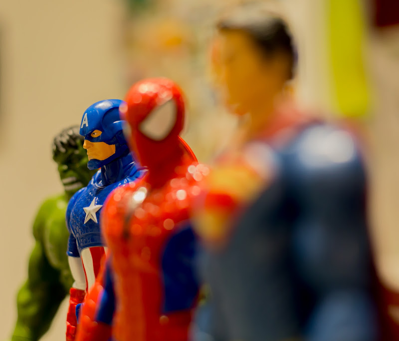 Marvel e non... di MauMarty