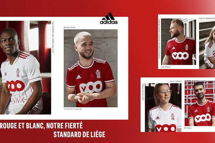 📷 Le Standard de Liège présente ses maillots domicile et extérieur pour la saison 2021-2022