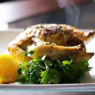 Lemon Roasted Cornish Hens.