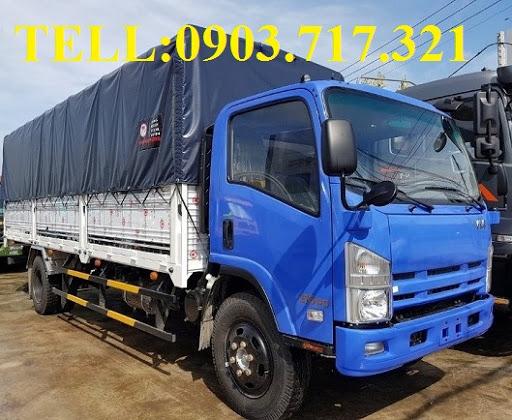Bán giá sỉ xe tải Vĩnh Phát 8T2 / 8200kg / 8tan2, Isuzu Vĩnh Phát 8T2 (VM8T2—FN129)